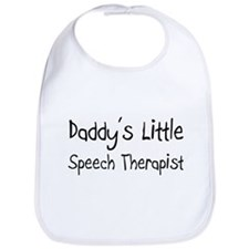 Daddy's Little Speech Therapist Bib