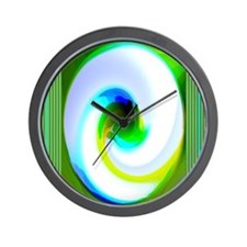 Inner Space Abstaction Wall Clock