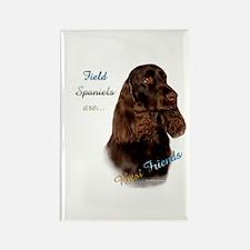 Field Spaniel Best Friend1 Rectangle Magnet