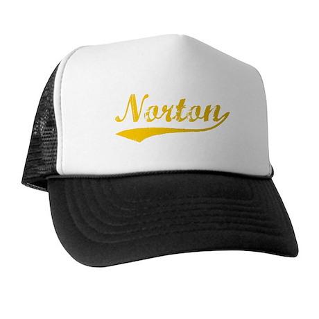 Vintage Norton (Orange) Trucker Hat