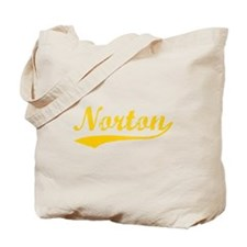 Vintage Norton (Orange) Tote Bag