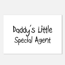 Daddy's Little Special Agent Postcards (Package of