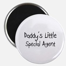 """Daddy's Little Special Agent 2.25"""" Magnet (10 pack"""