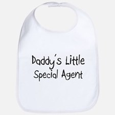 Daddy's Little Special Agent Bib