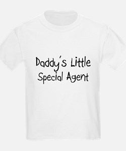 Daddy's Little Special Agent T-Shirt