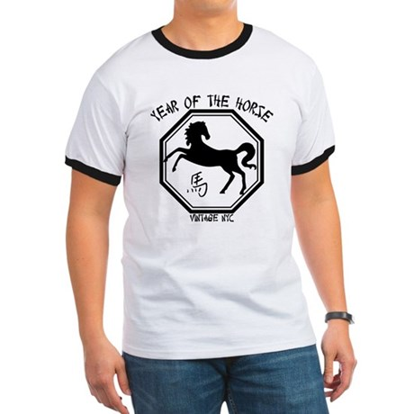 Year Of The Horse Ringer T