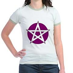 Purple Pentagram T