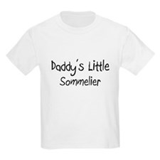 Daddy's Little Sommelier T-Shirt
