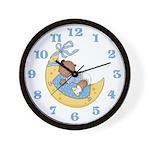Naptime (African American Boy) Wall Clock
