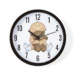 Beary Cute (Boy) Wall Clock