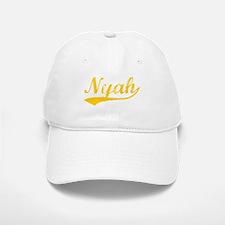 Vintage Nyah (Orange) Baseball Baseball Cap