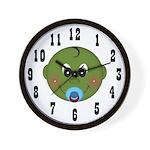 Pod Baby Wall Clock