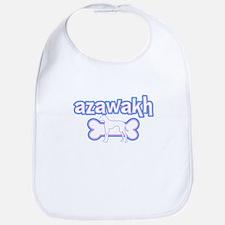 Powderpuff Azawakh Bib