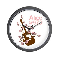 Alice 'Blossom' Wall Clock