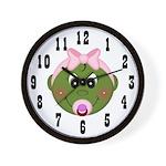 Pod Baby (Girl) Wall Clock