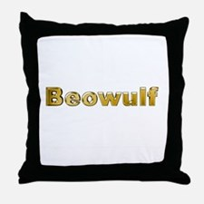 Unique Beowulf Throw Pillow