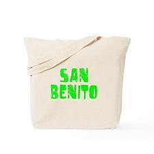 San Benito Faded (Green) Tote Bag