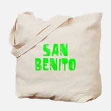 San Benito Faded (Green) Tote Bag