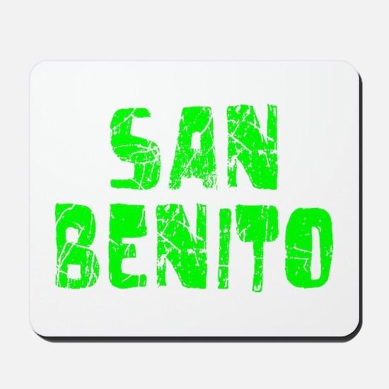 San Benito Faded (Green) Mousepad