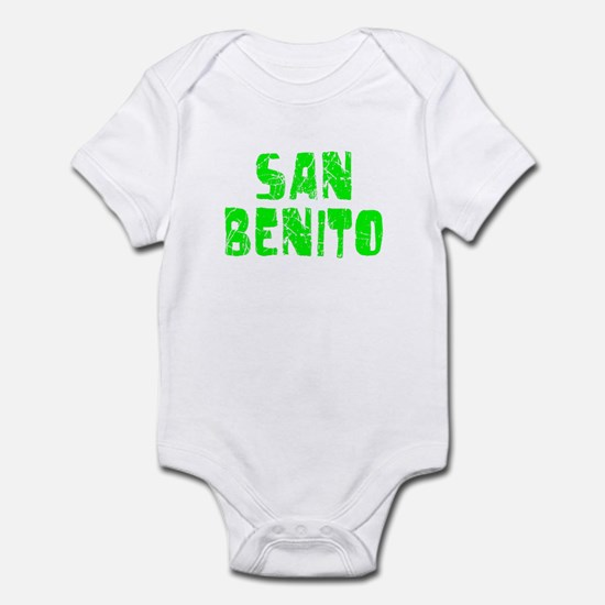 San Benito Faded (Green) Infant Bodysuit