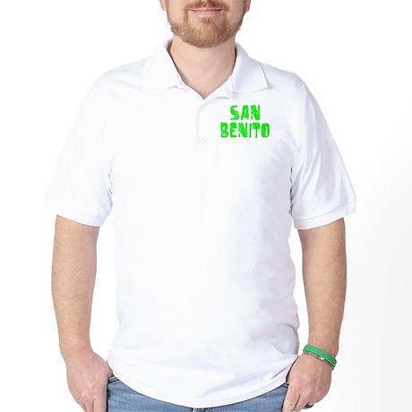 San Benito Faded (Green) Golf Shirt
