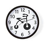 Retro trike Wall Clock