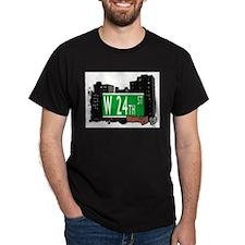 W 24th STREET, BROOKLYN, NYC T-Shirt