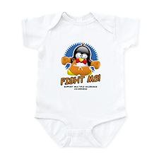 Fight MS Penguin Infant Bodysuit