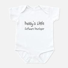 Daddy's Little Software Developer Infant Bodysuit