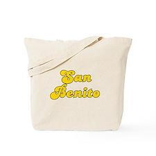 Retro San Benito (Gold) Tote Bag