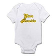 Retro San Benito (Gold) Infant Bodysuit