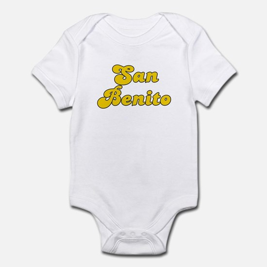 Retro San Benito (Gold) Infant Bodysuit