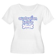 Powderpuff Kelpie Women's Plus Size Tee Shirt