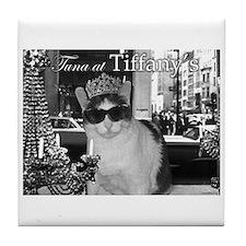 Tuna at Tiffany's Tile Coaster