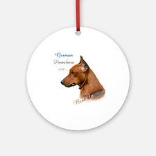 Pinscher Best Friend1 Ornament (Round)
