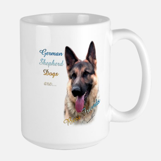 GSD Best Friend1 Large Mug