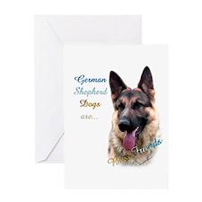 GSD Best Friend1 Greeting Card
