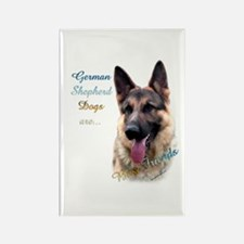 GSD Best Friend1 Rectangle Magnet (10 pack)