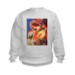 Mandolin Angel /Italian Spino Kids Sweatshirt