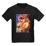 Mandolin Angel /Italian Spino Kids Dark T-Shirt