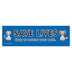 Pets & Animals Bumper Bumper Sticker