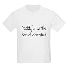 Daddy's Little Social Scientist T-Shirt