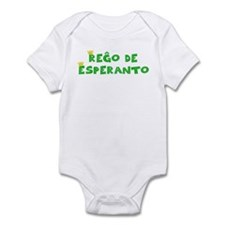 King of Esperanto Infant Bodysuit