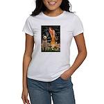 Fairies/ Italian Spinone Women's T-Shirt