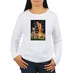 Fairies/ Italian Spinone Women's Long Sleeve T-Shi