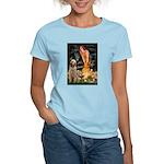 Fairies/ Italian Spinone Women's Light T-Shirt