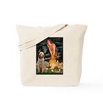 Fairies/ Italian Spinone Tote Bag