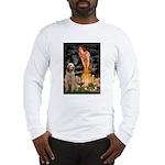 Fairies/ Italian Spinone Long Sleeve T-Shirt