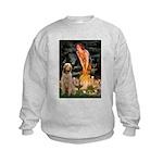 Fairies/ Italian Spinone Kids Sweatshirt