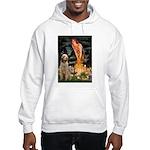 Fairies/ Italian Spinone Hooded Sweatshirt